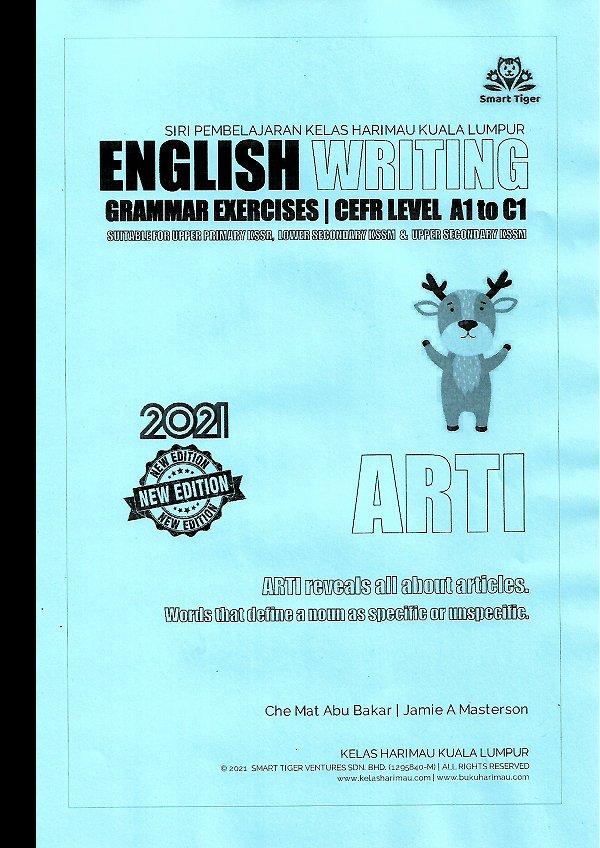 English Writing Grammar Exercises Series - ARTI The Antelope