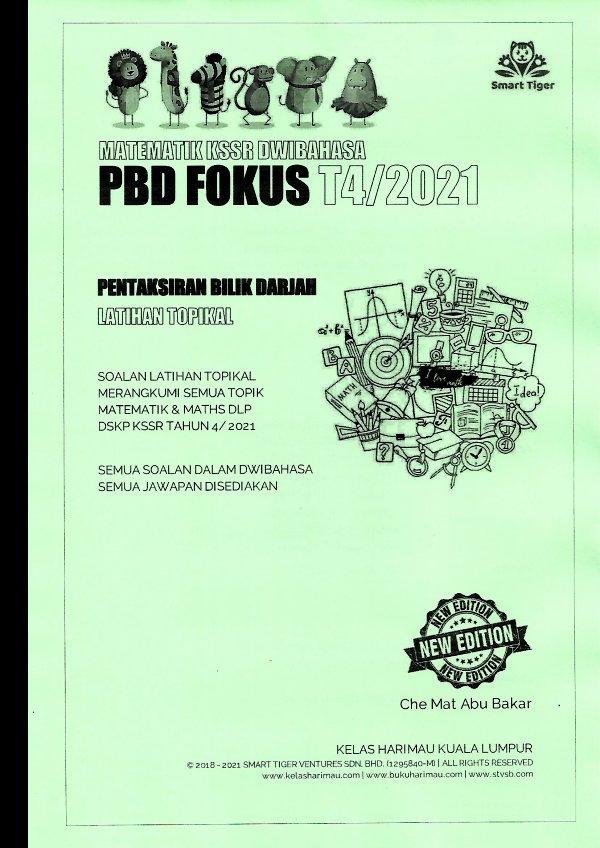Smart Tiger Matematik PBD Fokus T4/2021
