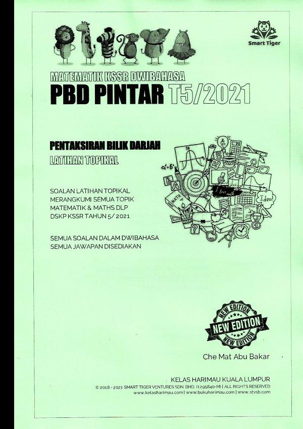 Smart Tiger Matematik PBD Pintar T5/2021