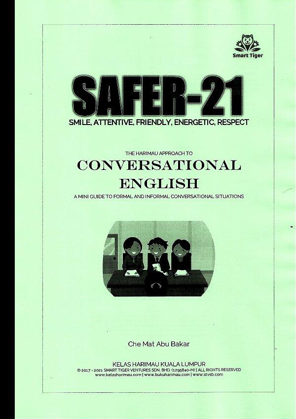 English Conversational Exercises Series - SAFER21